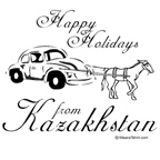 Happy Holidays from Kazakhstan