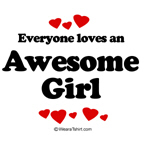 Everyone loves an Awesome girl