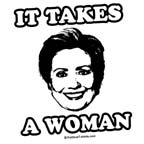Hillary Clinton: It takes a woman