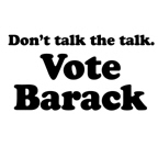 Don't talk the talk
