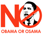 NO TO OBAMA / No Obama No Osama