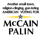 Another Small town American voting for Palin