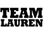 TEAM LAUREN T-SHIRTS