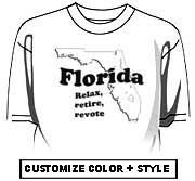 Florida - Relax, retire, revote.