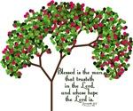 Jeremiah 17:7 Tree