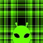 Peeking Alien Head