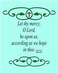 Bible Scripture Psalm 33:22