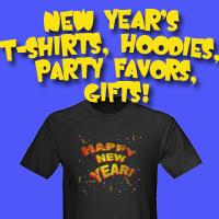 2016  New Years T-shirts & Party Favors
