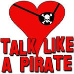 TALK LIKE A PIRATE WITH EYEPATCH