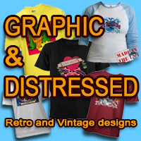 HOT Graphic Tees, Distressed, Tattoo, Asian Art