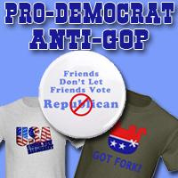 SECTION of Pro Democrat, Anti-Republican, Dem Win