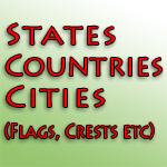 Cities, States and Countries Bumper Stickers