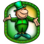 Green Leprechaun for St. Patricks' Day