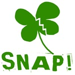 Snap! With Green Ireland Shamrock