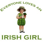Everyone loves an Irish girl cute design
