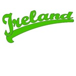 Ireland in a Great Baseball Font