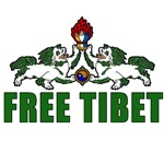 Free Tibet on T-shirts, Mugs, Buttons