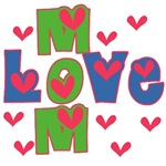 Mom Love Mother's Day T-shirts and Gifts