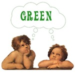 Cute Earth Day Design THINK GREEN