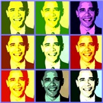 Barack Obama Warholesque Pop Art Design