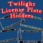 TWILIGHT License Plate Surrounds