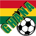 World Soccer GHANA Team T-shirts