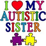 I Love My Autistic Sister Tshirts