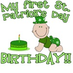 My First St. Patrick's Day Birthday!
