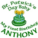 Personalized for Anthony's Birthday