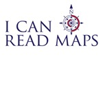 I can read maps