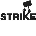 Strike w/sign