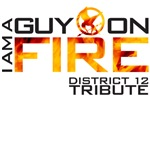 Hunger Games - Guy on fire