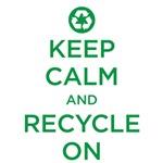 Keep Calm - recycle