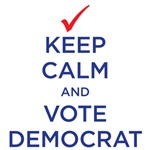 Keep Calm - Democrat