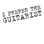 I prefer the guitarist