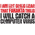 I will catch a computer virus
