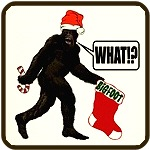 Bigfoot have big stocking So what! Christmas