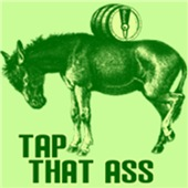Tap That Ass Donkey Beer Keg