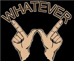 Whatever Hand Gesture t-shirts Gifts