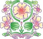 Nouveau Floral