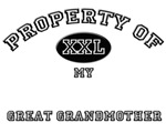Property of my GREAT GRANDMOTHER