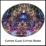 8 inch round glass cutting boards
