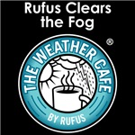 Rufus Clears the Fog (Dark Fabric)