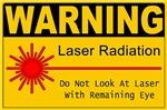 Warning: Laser