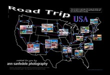 ROAD TRIP USA Oversized Wall Calendar