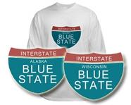 Obama State Interstate Tees
