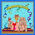 WHEATEN TERRIER: CONGRATULATIONS