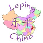 Leping Color Map, China