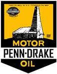 Vintage Penn-Drake Oil sign