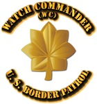 US Border Patrol - Watch Commander